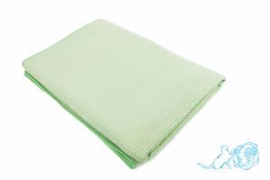 Купить полотенце Вафельное (салатовое) 80*150, Белый Кот недорого