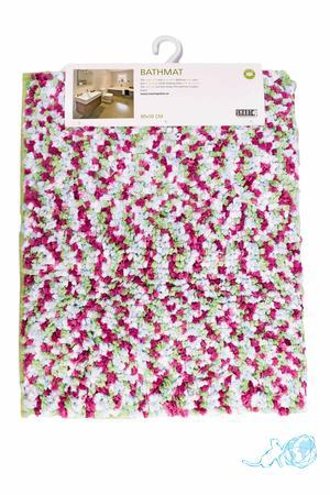 Купить коврик для ванной 80*50 см, Белый Кот в интернет-магазине