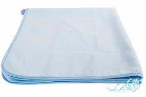 Купить полотенце детское с капюшоном (голубое) 70*75, Белый Кот недорого