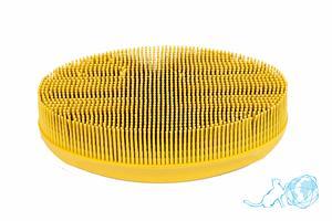 Купить щетку Овал (желтую), Белый Кот в интернет-магазине
