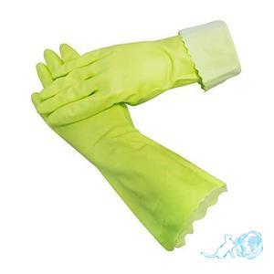 """Купить виниловые перчатки с фиксацией на кончиках пальцев """"Белый Кот"""""""