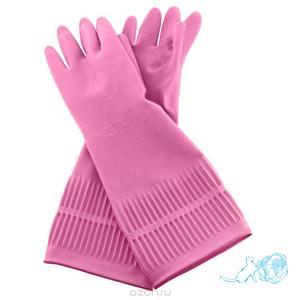 """Купить перчатки из натурального латекса с внутренним покрытием """"Белый Кот"""""""