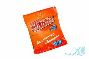 Купить порошок пятновыводитель Udalix 80 гр., Белый Кот недорого