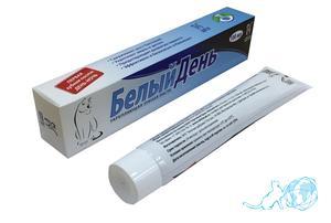 Купить зубную пасту укрепляющую, Белый Кот недорого