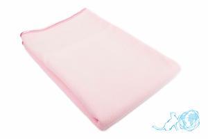 Купить полотенце Банное (розовое) 80*150, Белый Кот недорого