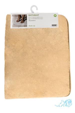Купить коврик для ванны бежевый, Белый Кот недорого