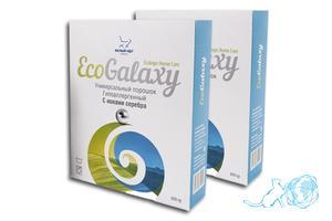 Купить стиральный порошок ECO GALAXY с ионами серебра, Белый Кот на официальном сайте