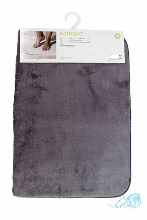 Купить коврик для ванной серый, Белый Кот в интернет-магазине
