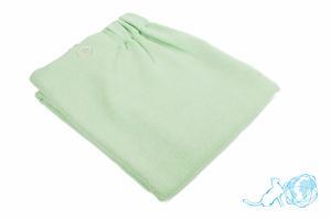 Купить полотенце для сауны (зеленое) 80*150, Белый Кот недорого