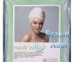 Купить тюрбан для сушки волос (зеленый), Белый Кот по низкой цене