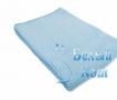 Купить полотенце Вафельное (голубое) 80*150, Белый Кот по низкой цене