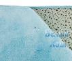 Купить коврик для ванной 65*45 см, голубой, Белый Кот в интернет-магазине