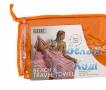Купить полотенце Пляжное (оранжевое) 87*180, Белый Кот по низкой цене