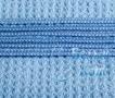 Купить полотенце Вафельное (голубое) 80*150, Белый Кот на официальном сайте