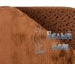 Купить коврик для ванной комнаты коричневый, Белый Кот недорого