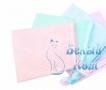 Купить мини варежку косметическую, Белый Кот в интернет-магазине
