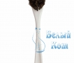 Купить щетку для мытья посуды из конского волоса белую недорого